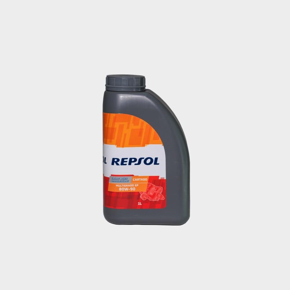 REPSOL CARTAGO MULTIGRADO  EP 80W90 1 LT
