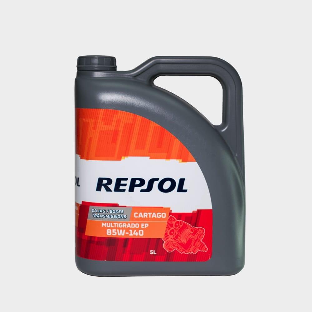 REPSOL CARTAGO MULTIGRADO EP 85W140 5 LTS