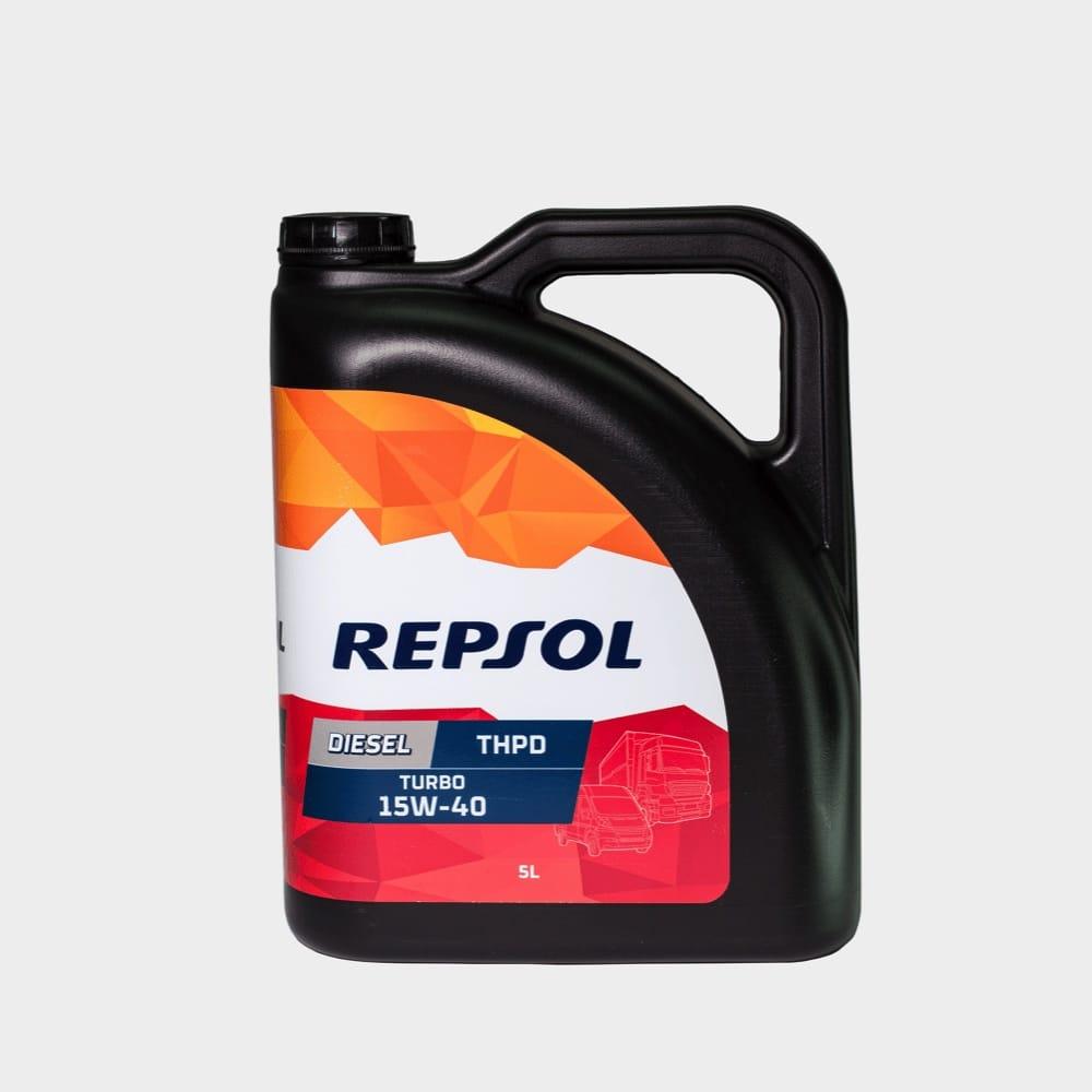 REPSOL DIESEL THPD TURBO 15W40 5 LTS