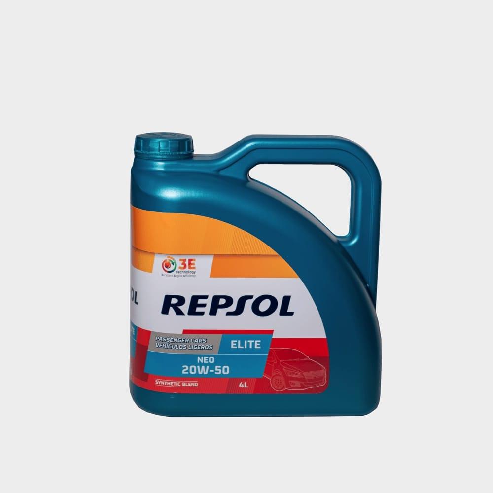 REPSOL ELITE NEO 20W50 4 LTS